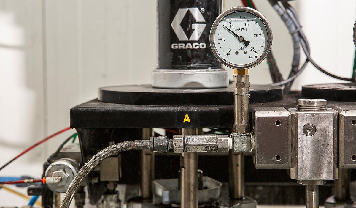 Instalaciones Prisma temperatura
