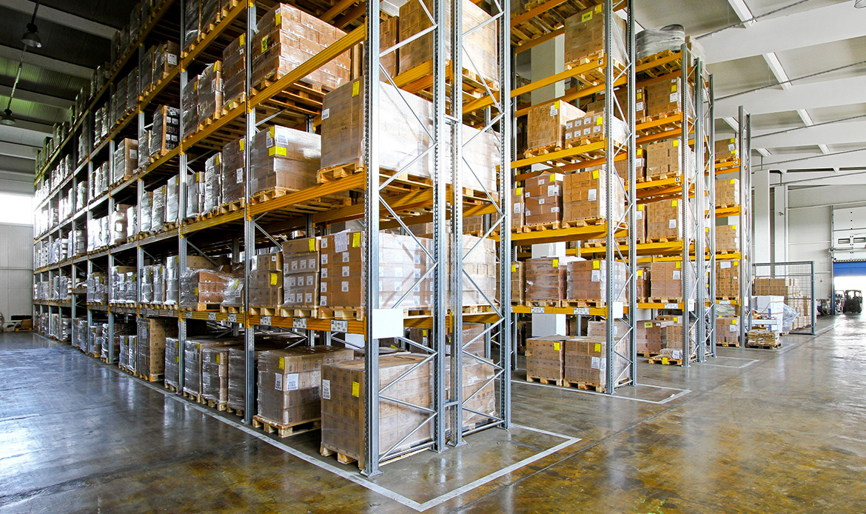 Estanterias de almacenaje