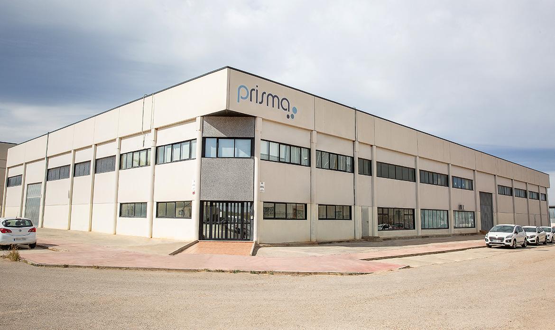 Instalaciones Prisma fachada principal