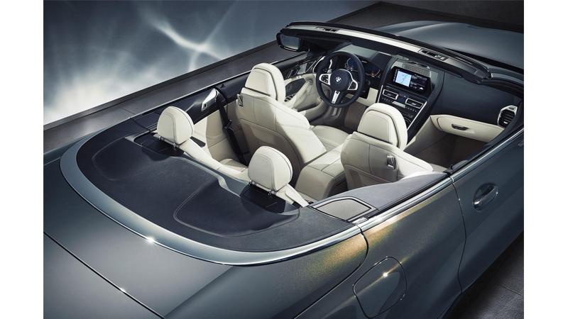 BMW Serie 8 Cabrio 2019 interior